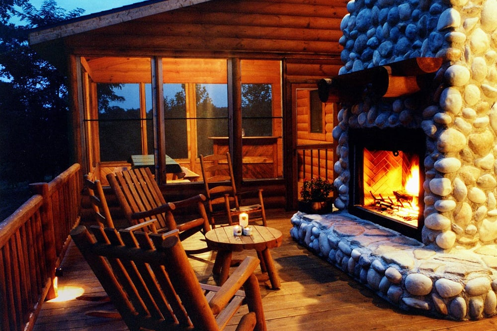 Fireplace Deck